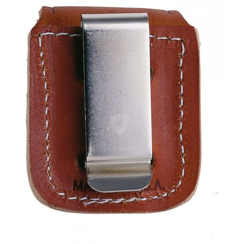 Pouch Brown with Clip - ZIPPO